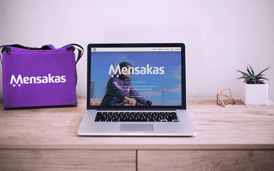 Presentamos la nueva web de la Cooperativa de Mensajería Mensakas